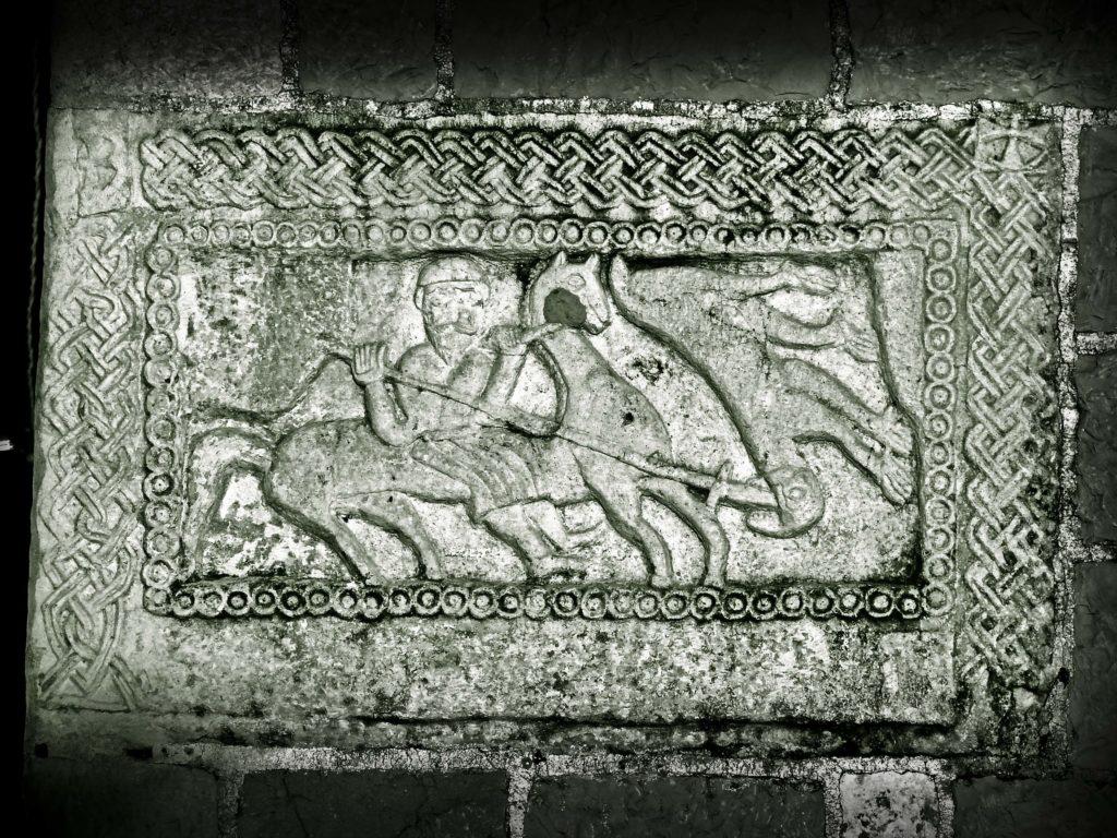 Konjanički reljef u Žrnovnici